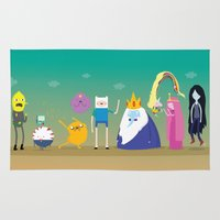 Adventure time characters Rug