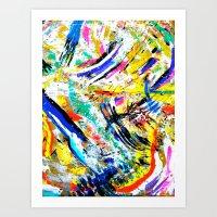 Re: Stacks // Bon Iver Art Print