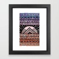 Surf Afternoon Framed Art Print