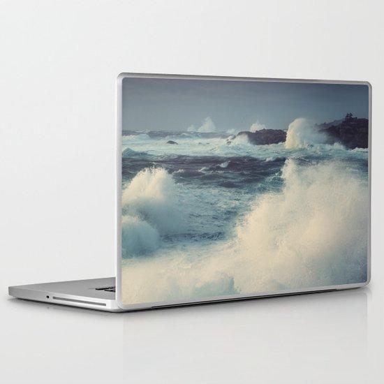 January Storm Laptop & iPad Skin