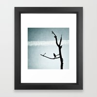 Le Petit Oiseau Framed Art Print