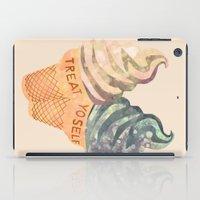 Treat Yo' Self iPad Case