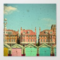 Canvas Print featuring Promenade by Cassia Beck