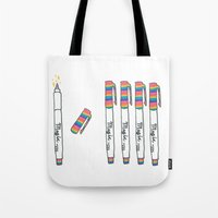 Magic Markers Tote Bag