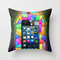 iChurch Throw Pillow