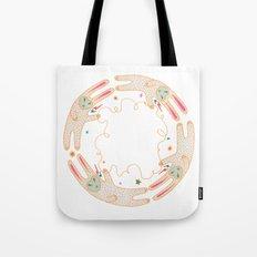 Rabbit Moon Tote Bag