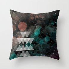Urban Summer Throw Pillow