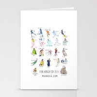 FIFA World Cup 2014 Moments! Stationery Cards