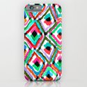 Watercolour Ikat iPhone & iPod Case