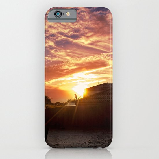Dramatic Sunset iPhone & iPod Case