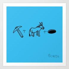 Artist Series: Picasso Blue Period Art Print