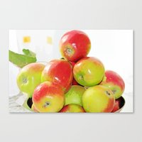 Apples From My Apple Tre… Canvas Print
