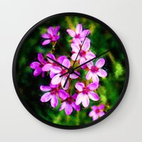 Spring Sweetness Wall Clock