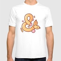 Ampersausage Mens Fitted Tee White SMALL