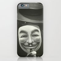 iPhone & iPod Case featuring Anonymous II by Dr. Lukas Brezak