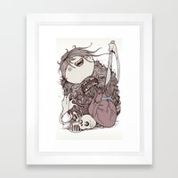 The Forest Is Sick Framed Art Print