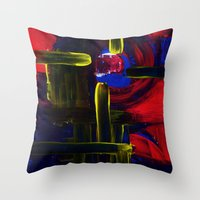 nightbrite Throw Pillow