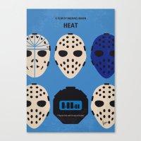 No621 My Heat Minimal Mo… Canvas Print