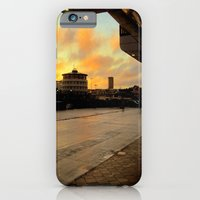 iPhone & iPod Case featuring The City Terminal by Anna Brunk