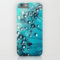 Sea Blue Shower iPhone 6 Slim Case