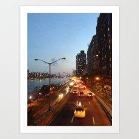 FDR Overpass Art Print