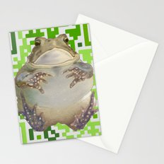 Ecoqr Toad Stationery Cards