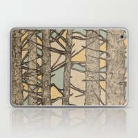 Stained Glass Trees Laptop & iPad Skin