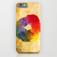 iPhone & iPod Case featuring Colors Series 1 : Circle of Life by Sreetama Ray
