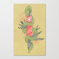 Swisssss Canvas Print