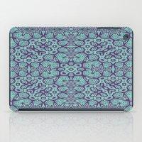 Ethnic Geo Teal & Plum iPad Case