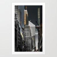New york / Buildings Art Print