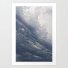 Stormy weather Art Print