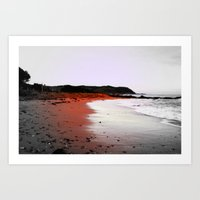 Red Sands Art Print