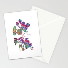 Mickey Loves Minnie Stationery Cards