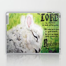 The Lord Restores Psalm 23 Laptop & iPad Skin