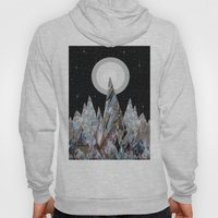 Moon mountains (landscape design) Hoody