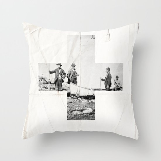 Cross Throw Pillow