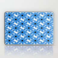 Small Soothing Blue Flow… Laptop & iPad Skin