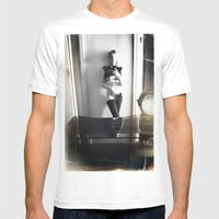 CAMRAFACE Mens Fitted Tee White SMALL