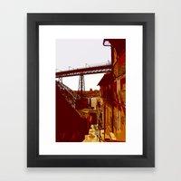 Escada Dos Guindais Framed Art Print