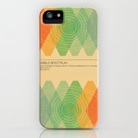 iPhone Cases featuring Visible Spectrum  by Budi Kwan