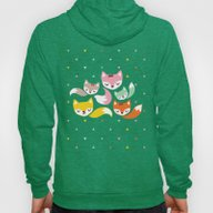 The Magical Foxes II Hoody
