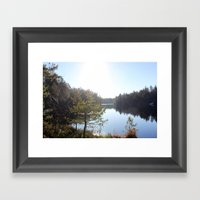 Lake II Framed Art Print