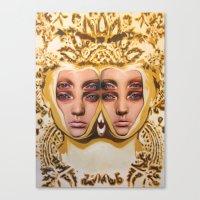 The Royals By Alex Garan… Canvas Print