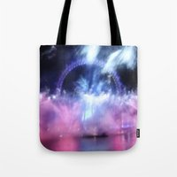 New Year's Eve At London… Tote Bag