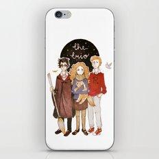 the trio iPhone & iPod Skin