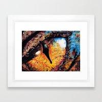 Smaug's Eye Framed Art Print