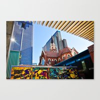 Abstract Architecture Canvas Print