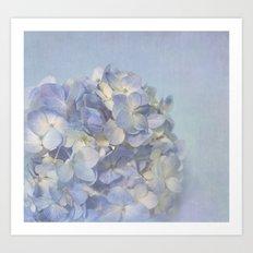 Charming Blue Art Print