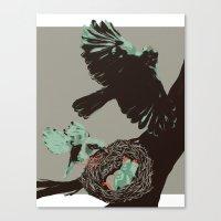 Hatch Canvas Print